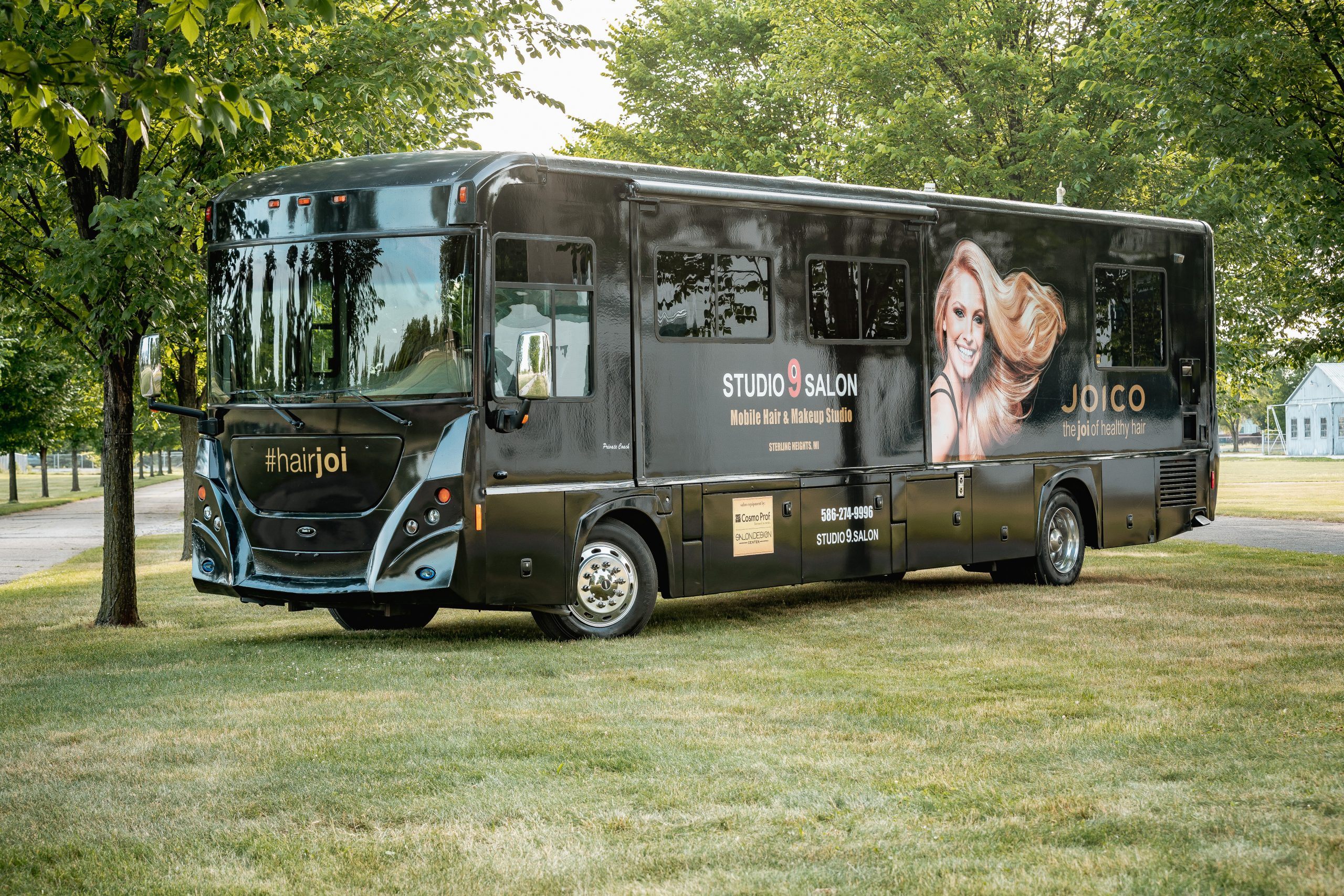 mobile hair salon